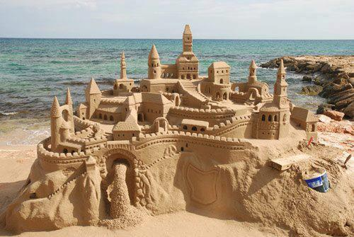 Sand Sculpture-Castle--.Photo Courtesy Yesha Pomal