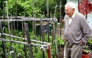 OldMan gardening