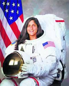 Sunita Williams --Courtesy Google images