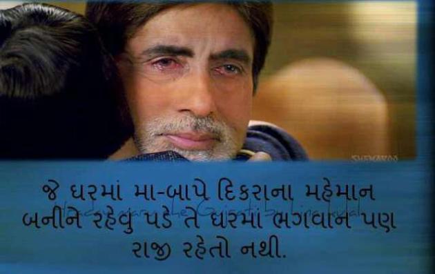 Amitabh Bachchan in Film Bagban