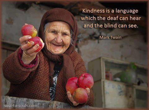 Kindness -Mark Twain Quote