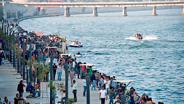 Face lift of Ahmedabad Sabarmati River Front