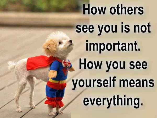 How you see yourself ...ADog Picture