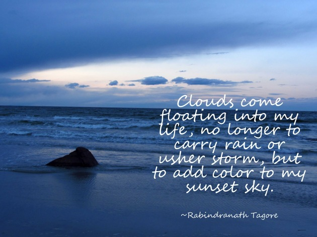 Clouds come to my life -2 Tagore