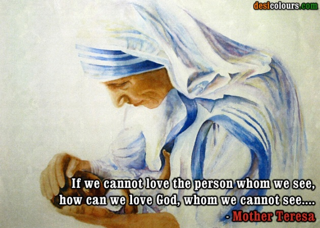 Mother Teresa- Quote