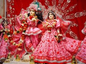 Radha Raman temple Idol photo
