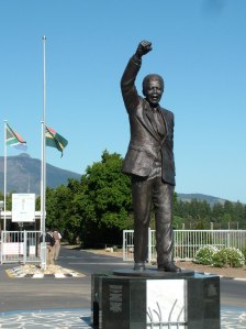 Nelson Mandela Statue, Victor Verster Prison, Wemmershoek, South Africa