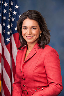 Tulsi Gabbard-Member of the U.S. House of Representatives  from Hawaii's 2nd district