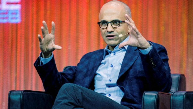 Satya Nadella ,New Chief Executive officer of Technology Giant, Microsoft . He is a symbol of rising India's talent globally . Congratulations. -PTI Photo