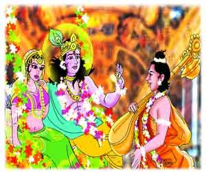 Krishna-Narad