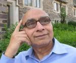 Sureshbhai Jani in contemplating mood