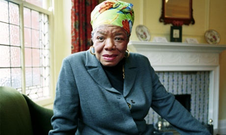 And still I rise … Maya Angelou in 1999. Photograph: Martin Godwin for the Guardian