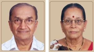 Uttam and Madhu Gajjar