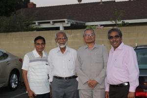 Rameshbhai, Anandrao, Vinodbhai and Govindbhai