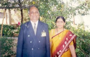 Bhaskarbhai Maheta and Pravinaben Mahea