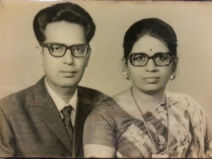Mr.P.K.Davda & Mrs. Chandralekha P.Davda- Young age photo