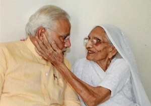 Modi-mother -Love