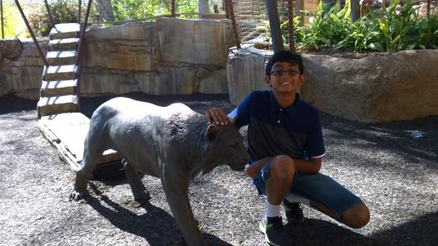 Arjun- in zoo