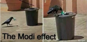 Clean India- crow