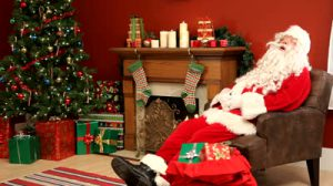 santa-claus-sleeping-in-living-room
