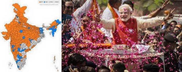 Modi- 1st  anniversary