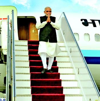 Modi- foreign tour