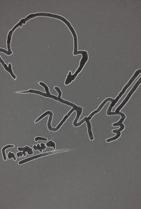 Gandhi Sketch- vrp -4