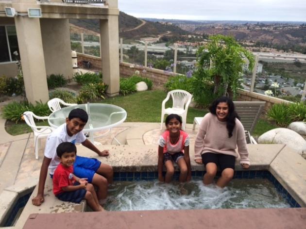 Kayen,Arjun,Priya,Meera 7-5-15