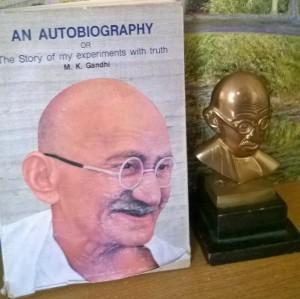 Gandhi book photo