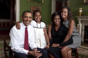 Obama Family-Portrait- Sept. 1, 2009. (Official White House Photo) Photo by Annie Leibovitz