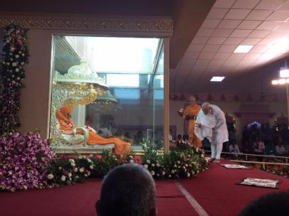 Pramukh Swami-Modi last rites