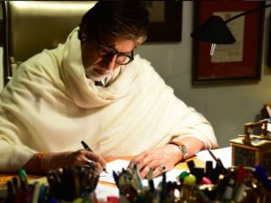 Amitabh Bachchan writing letter to his Grand Daughters -Aaradhya & Navya Naveli